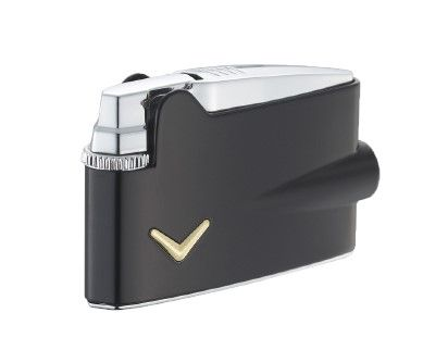 mini varaflame matt black - En Ronson lighter klæder din cigar